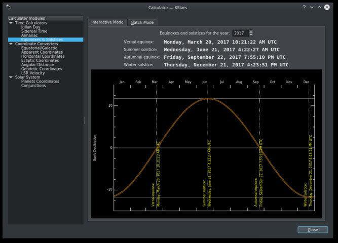 Wi-Fi Astrophotograph System Controller Planner Screenshot
