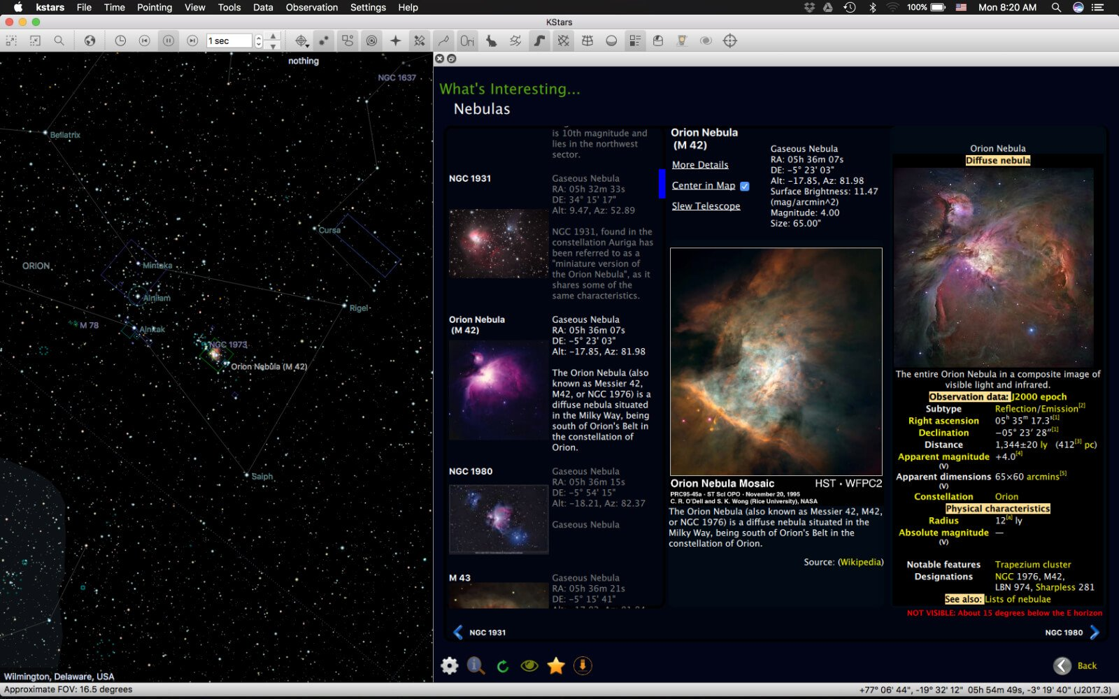 Stellarmate Wi-Fi Astrophotograph System Controller Discover Screenshot