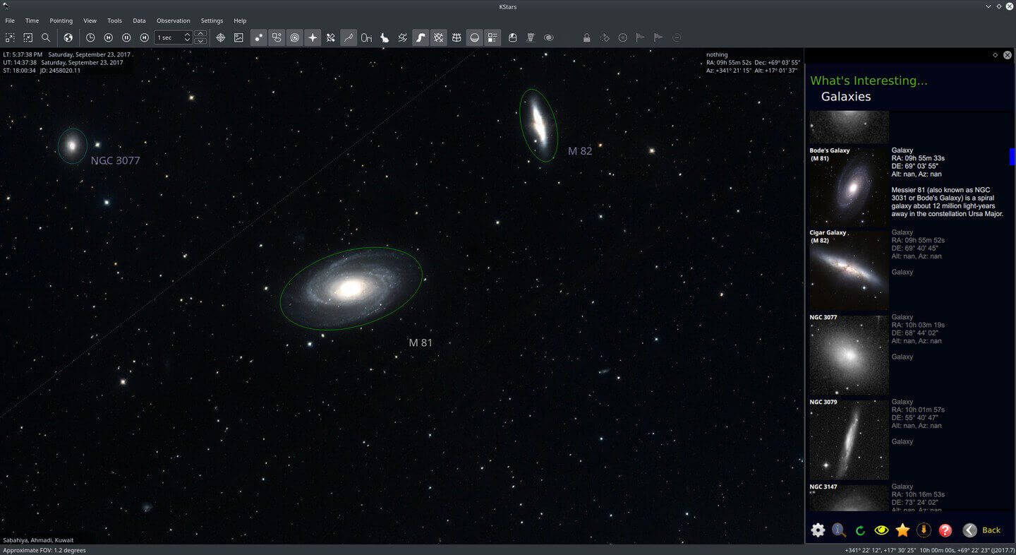 Wi-Fi Astrophotograph System Controller Catalogs Screenshot